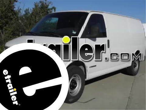 trailer wiring harness installation chevrolet express van trailer wiring harness installation 2002 chevrolet express van etrailer com