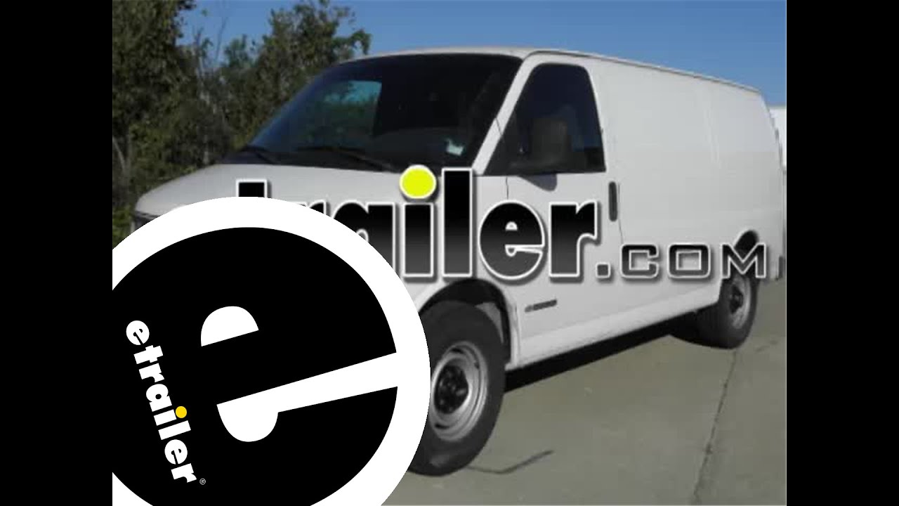 small resolution of trailer wiring harness installation 2002 chevrolet express van etrailer com