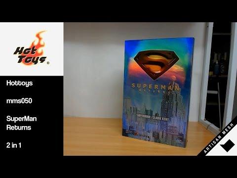 Hottoys mms050 SuperMan Returns 2 in 1 – ArtisanMesh