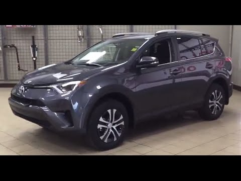 2016 Toyota Rav4 Le Upgrade Awd Review
