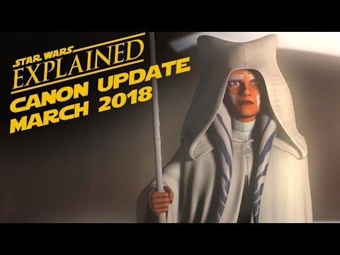 March 2018 Star Wars Canon Update