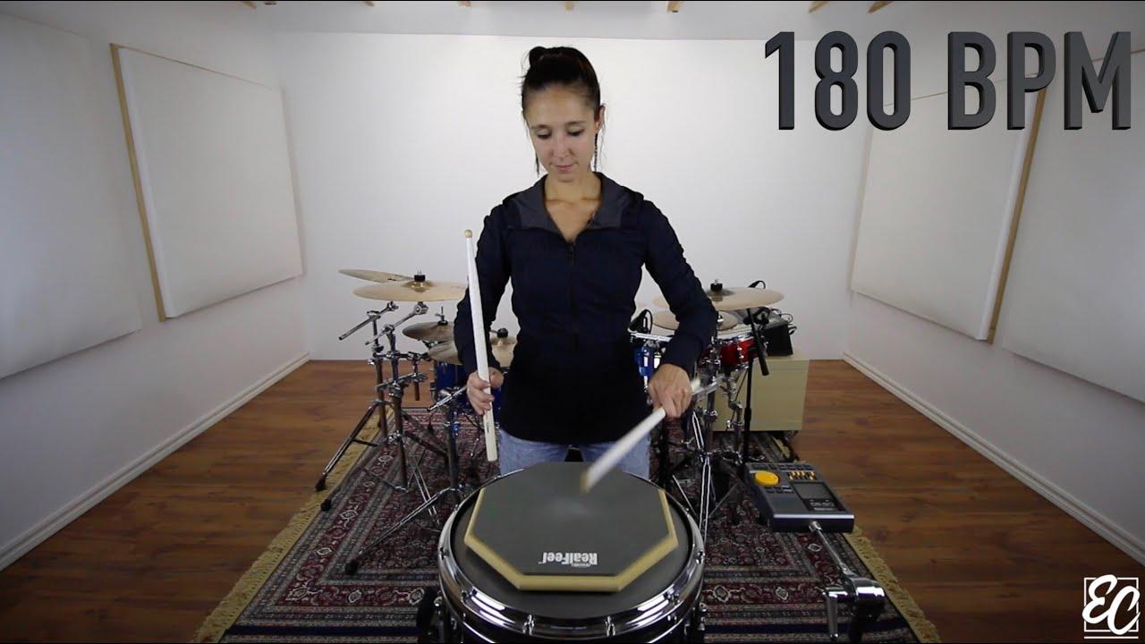 Emmanuelle Caplette Free Drum Lesson: Develop your Accents & Diddles