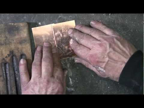 Silver Soldering a Lap Joint in Copper