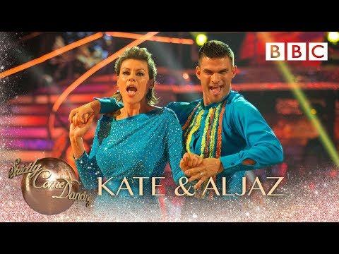 Kate Silverton and Aljaz Skorjanec Samba to 'Africa' by Toto - BBC Strictly 2018