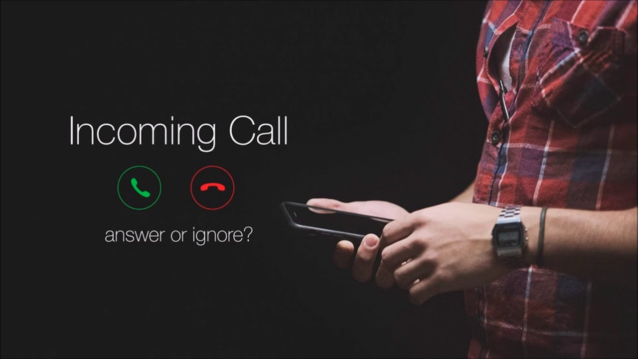 answer the phone ringtone android
