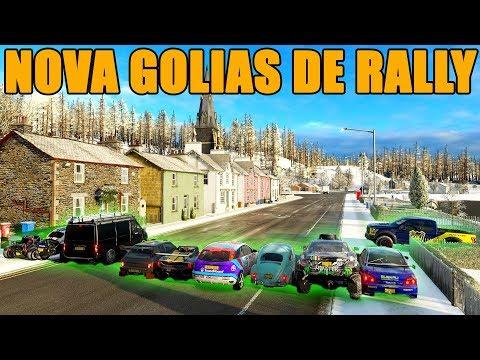 CORRIDA INSANA NA NOVA GOLIAS DE RALLY - FORZA HORIZON 4 - GAMEPLAY thumbnail