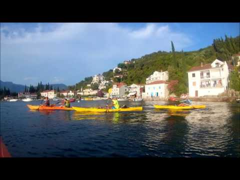 Kayak Herceg Novi - Rose Tour