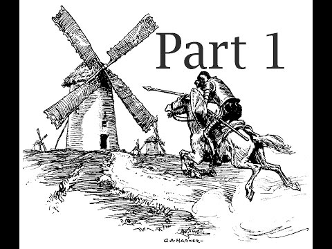 Audiobook: Don Quixote English part 1