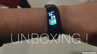 Honor Band 4 - Unboxing, Setup, and Initial Impressions