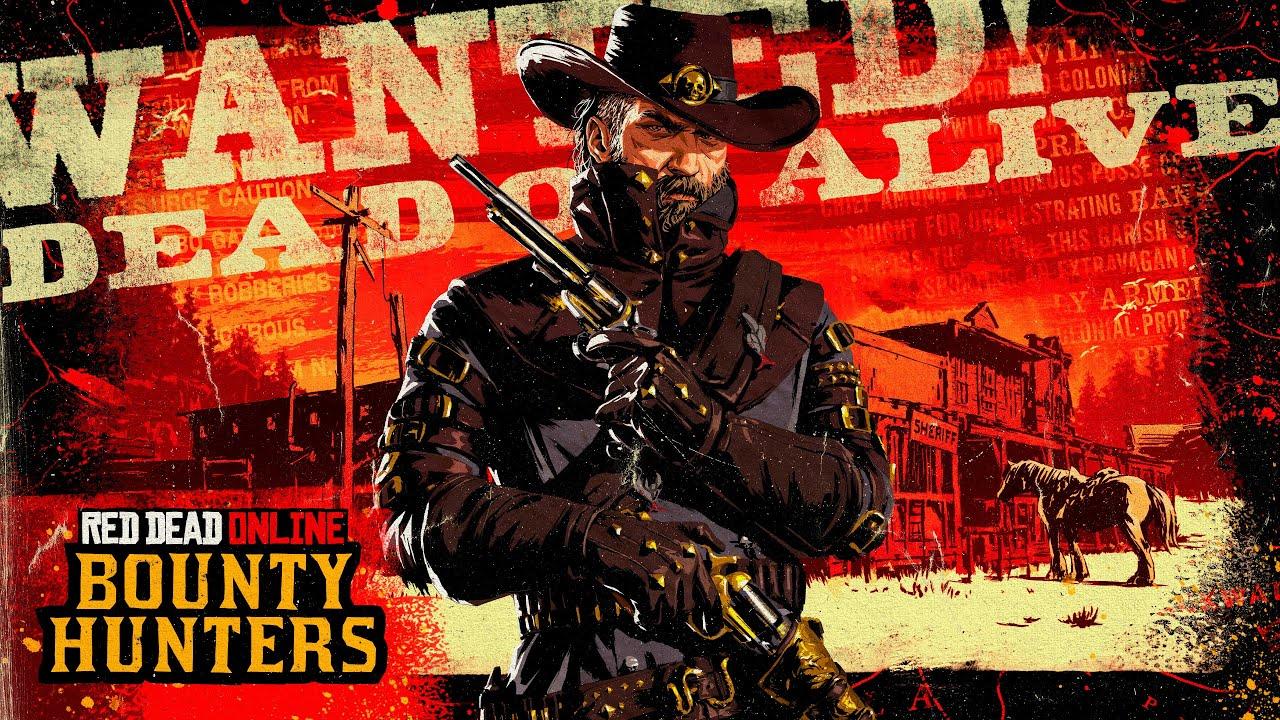 Red Dead 線上模式 - 賞金獵人 宣傳影像