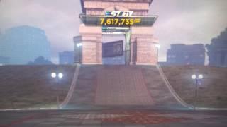 Nfs m.w. james bond tower jump