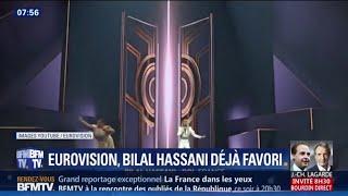 Bilal Hassani dans le top 3 des parieurs à l'Eurovision