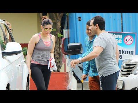 After Shahid Kapoor-Mira Rajput, Kareena Kapoor-Saif Ali Khan Spotted At The Gym Together