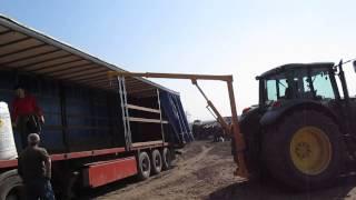 Descarcare azotat de amoniu-John Deere 6920s