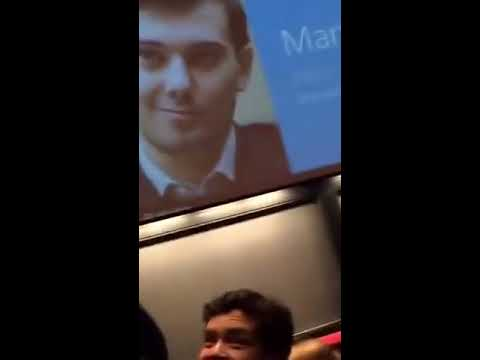 Shkreli at Harvard University (15 Feb 2017)