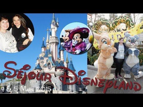 VLOG || Disneyland_4 & 5 Mars 2015