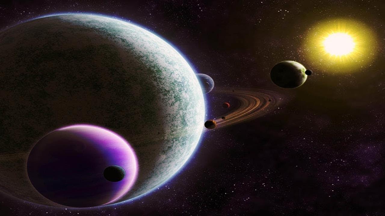 5największych planet wkosmosie