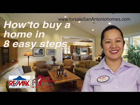 How to buy a home in 8 easy steps