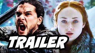 Game Of Thrones Season 7 Jon Snow Sansa Arya Teaser Trailer Breakdown