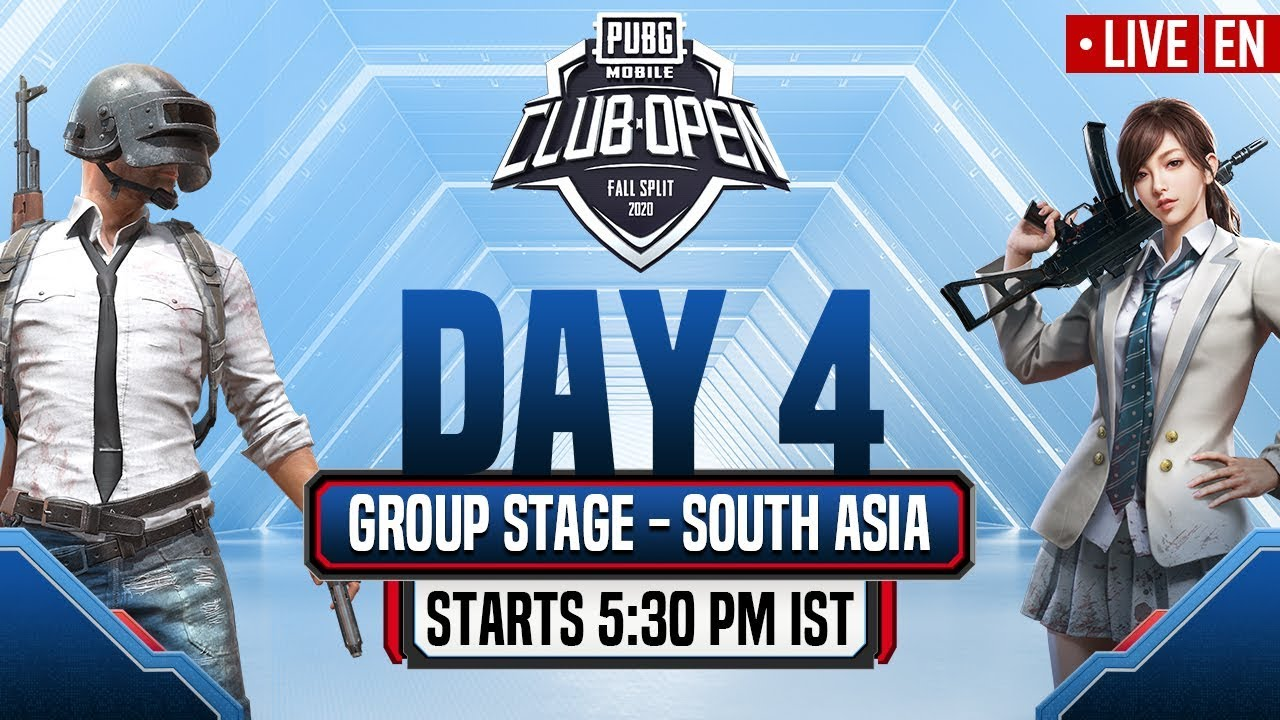 [EN] PMCO South Asia Group Stage Day 4 | Fall Split | PUBG MOBILE CLUB OPEN 2020