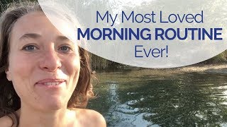 My Best Morning Routine Ever! A Personal Thank You to You, Gut Feelers!