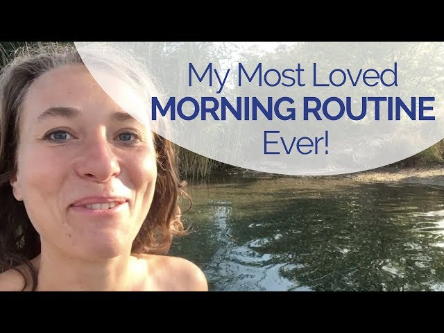 My Best Morning Routine Ever! A Personal Thank You for You, Gut Feelers!