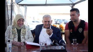 Başbakan Yıldırım, polis telsizinden güvenlik güçlerinin Kurban Bayramı'nı kutladı - 01.09.2017