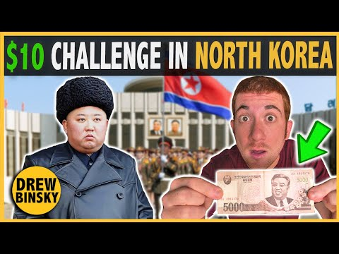 WHAT CAN $10 GET IN NORTH KOREA? (wtf is happening)