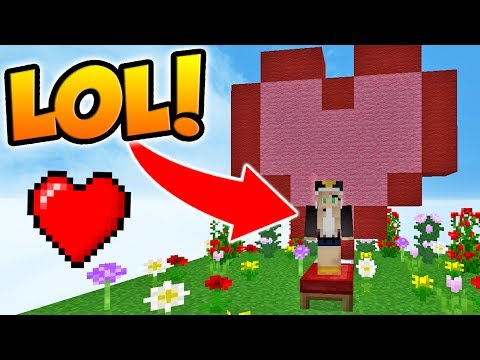 PRETENDING TO BE A GIRL IN MINECRAFT BED WARS!