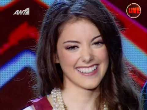 X Factor 3 Greece - Live Show 5 - Nikki - I (Who Have Nothing)