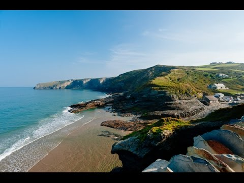 The Yellow Cottage - Luxury Self Catering In Trebarwith Strand, Cornwall