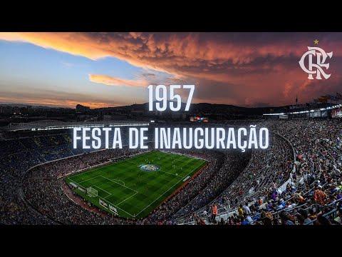 Flamengo na inauguração do estádio Camp Nou 728d0aa4f3f65