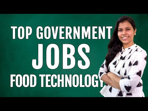 Top Government Job Opportunities for Food Technologists