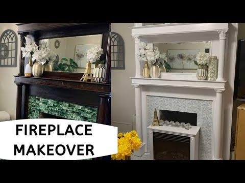 fireplace-mantle-makeover---diy-fireplace-ultimate-transformation-/-smtv