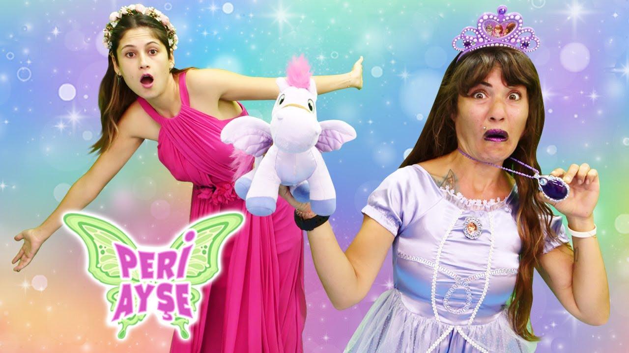 Download Peri Ayşe. Cadı Ümit prenses Sofia'ya dönüşüyor! Çocuk videosu. Kız oyunu