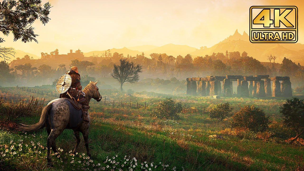 Assassin's Creed Valhalla - NEW Open World Gameplay @ ᵁᴴᴰ 60ᶠᵖˢ ✔