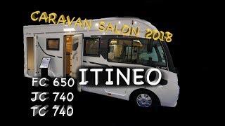 ITINEO - drei Premieren in einem Video - Cravan Salon 2018