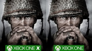 Call of Duty WW2 Xbox One X vs Xbox One Shows Massive Resolution Difference