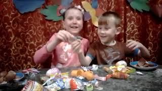Варюшка Пампушка, Киндер сюрпризы, приколы, развлечения, игры,для детей,развлечения