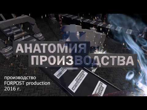 Анатомия производства. Выпуск 4. Производство настенных кронштейнов.