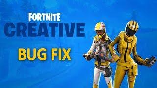 FORTNITE CREATIVE 'Bug Fix' Modifier la solution de bogue d'autorisation!