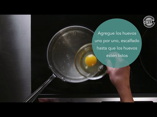CHEF Culinary Skills: Poaching (Spanish)