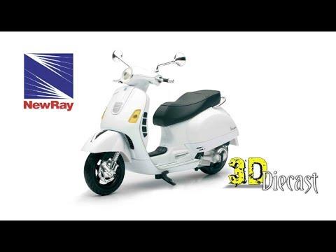 Newray 1 12 Vespa Gts 300 Super Youtube