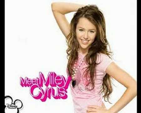 Meet Miley Cyrus - Rock Star - With Lyrics