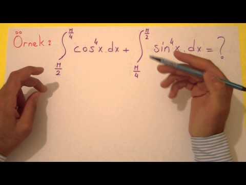İntegral 6 Şenol Hoca Matematik