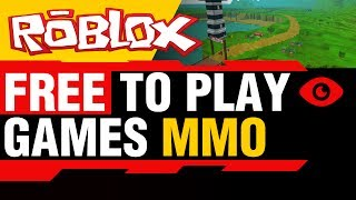 Free to Play Games MMO - Roblox