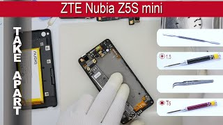 How to disassemble 📱 ZTE Nubia Z5S mini Take apart Tutorial(How to disassemble   ZTE Nubia Z5S mini by himself. Disassembly (take apart) and repair smartphone ZTE Nubia Z5S mini at home with a minimal set of tools., 2016-04-24T06:48:03.000Z)