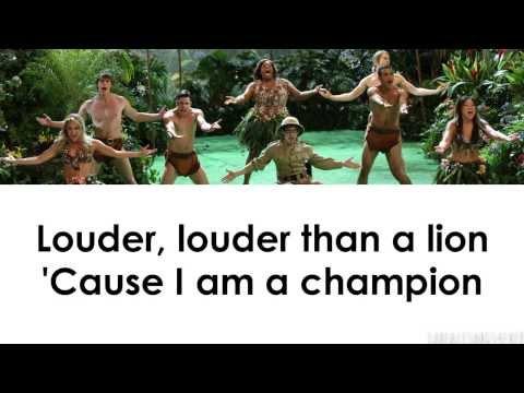 Glee - Roar (Lyrics)