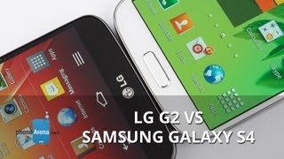 LG G2 vs Samsung Galaxy S4
