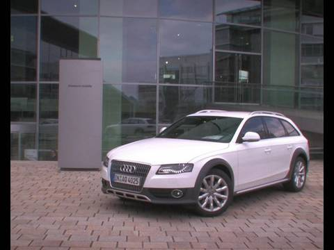essai audi a4 allroad 2009 youtube. Black Bedroom Furniture Sets. Home Design Ideas